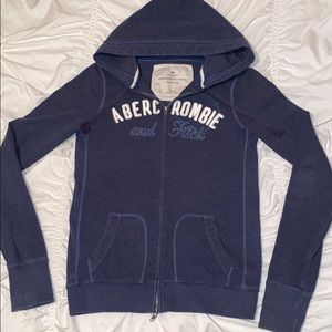 Women's large Abercrombie and Finch zipped hoodie